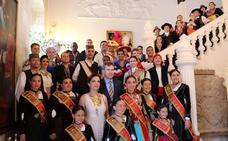Hermanamiento cultural entre los participantes del 42 Festival Internacional de Folclore