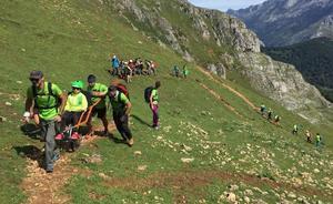 El proyecto de deporte adaptado 'Cumbres para todos' acaba este viernes en Neila