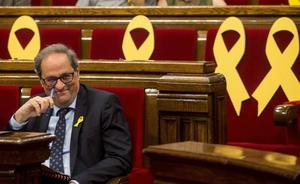 El Constitucional suspende la moción independentista aprobada por el Parlament