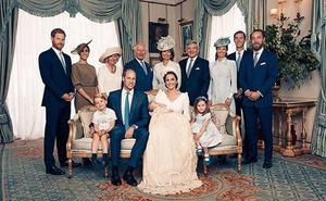 Publican las fotos oficiales del bautizo del Príncipe Louis