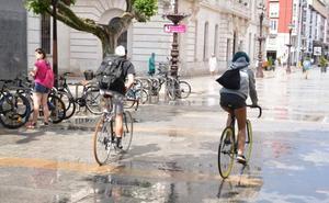 Las bicicletas podrán circular por algunas zonas peatonales manteniendo distancias y velocidad