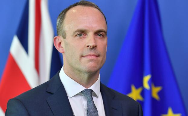 Dominic Raab. /Afp