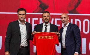 Luis Enrique se pone al frente de La Roja