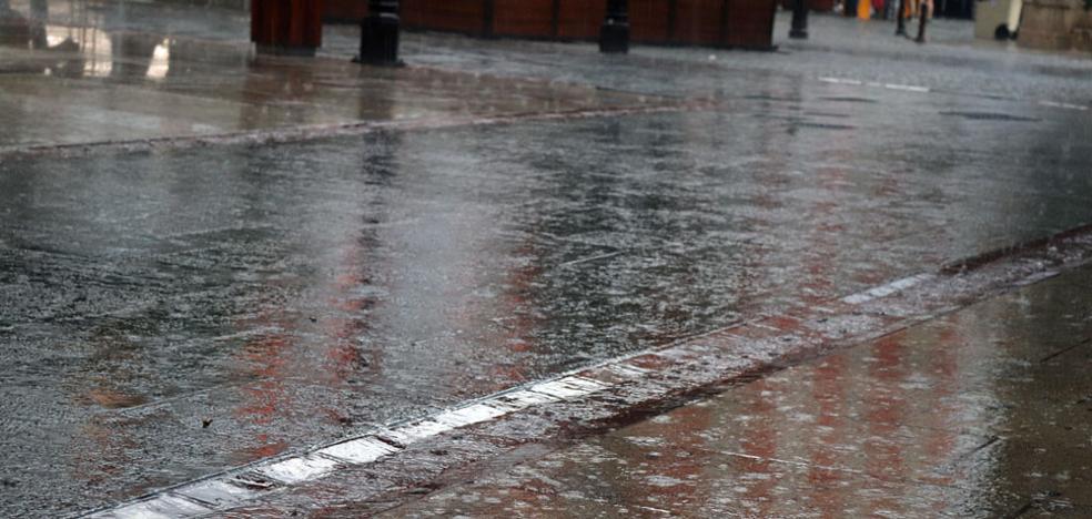 Burgos continúa en aviso amarillo por tormentas y granizo
