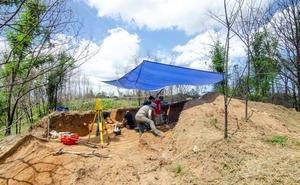 Finalizan las Campañas de Excavación en los yacimientos paleolíticos del Bajo Miño