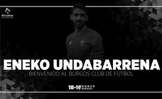 El Burgos CF ata a Eneko Undabarrena por dos temporadas