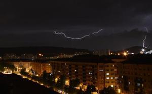 El fin de semana arranca en Burgos con tormentas y descenso de temperaturas