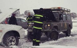 Abertis ofrece solo 40 euros por daños morales a los afectados por la nevada de enero en la AP-6
