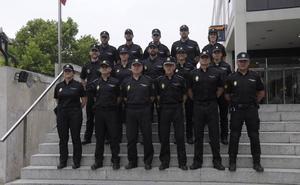 La Comisaría de Burgos incorpora a diez funcionarios en prácticas de la Escala Básica