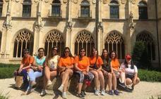 Una veintena de personas participa en la I Semana de Voluntariado Ambiental en Oña