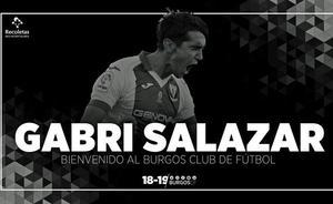 Gabri Salazar, novena incorporación del Burgos CF