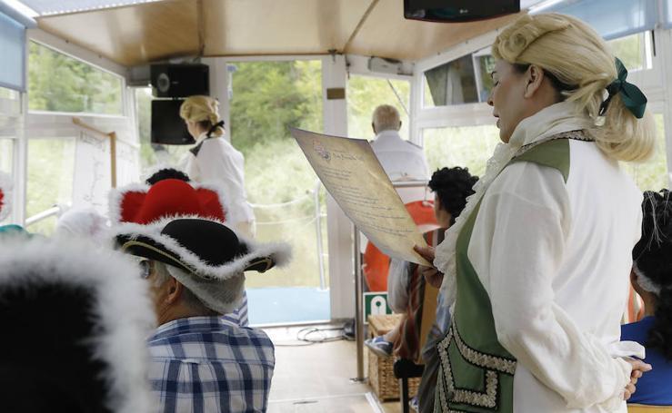El Marqués de la Ensenada vuelve a navegar en Herrera