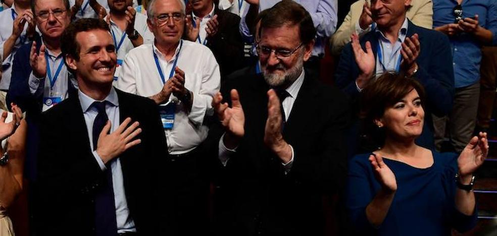 Pablo Casado, nuevo presidente del PP: «No os voy a defraudar»