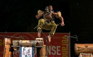 Gorsy Edú acerca África con su obra 'El Percusionista'