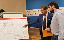 El Ayuntamiento invertirá 2,3 millones en Capiscol, con una nueva pasarela sobre el Arlanzón