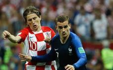 Griezmann y Modric apuntan al trono de Messi y Cristiano