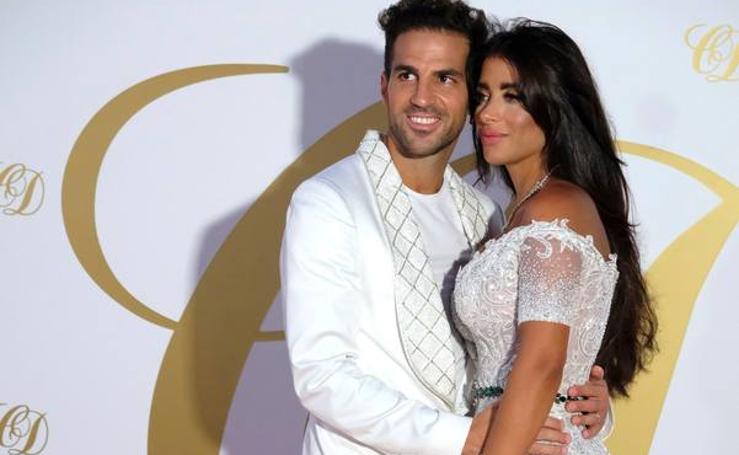 Las imágenes de la gran fiesta de la boda de Cesc Fàbregas y Daniella Semaan en Ibiza