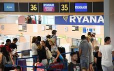 Ryanair cancela 29 vuelos más de los previstos en España con 65.000 afectados