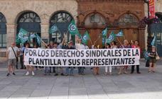 El Sindicato Obrero Independiente exige en la Diputación respeto a la libertad sindical