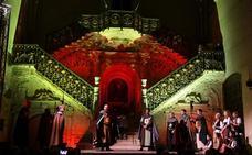 La historia de la Catedral de Burgos cobra vida en la Escalera Dorada