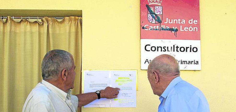 La huelga de médicos se concentra en los pueblos y entre los interinos