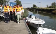 Tres barcas surcarán el Canal de Castilla en Villaumbrales