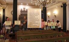 La oposición critica la aprobación unilateral de la RPT de la Diputación
