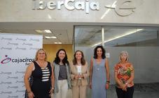 Cajacírculo e Ibercaja apoyan cuatro proyectos sociales en Aranda