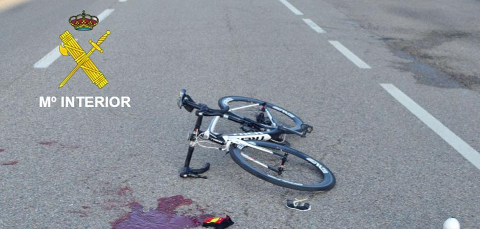 Investigado por imprudencia un conductor que atropelló a un ciclista en Tardajos