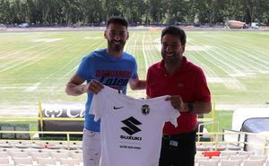Héctor Figueroa llega al Burgos CF dispuesto a «enganchar» con su gol