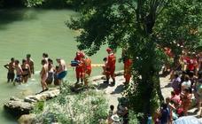 El accidente en la cascada de Tobalina aviva el debate sobre los bomberos voluntarios