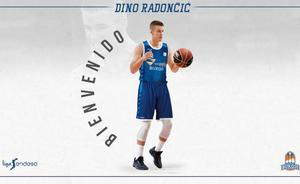 Dino Radoncic, talento joven en el San Pablo Burgos
