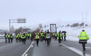 La Plataforma de la N-I cortará la carretera el martes 14 tras el accidente de Quintanapalla