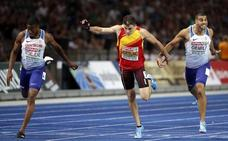 Bruno Hortelano se queda sin medalla