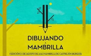 'Dibujando x Mambrilla' reunirá en la localidad a aficionados de la pintura en cuaderno este sábado