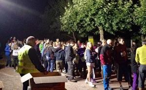 Down Burgos espera alcanzar los 1.000 andarines en la Marcha Nocturna de San Adrián de Juarros