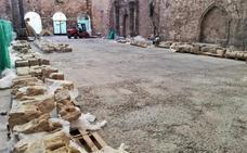 El Monasterio de San Juan se prepara para acoger el arco románico de La Isla