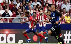 El Inter llena de dudas al Atlético