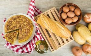 La tortilla de patata casera, la receta preferida de los castellanos y leoneses
