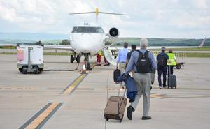 El aeropuerto de Burgos registra 1.637 pasajeros en julio, un 71% más que en 2017