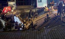 Festival O Marisquiño: Derrumbe en el paseo marítimo de Vigo