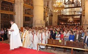 Una pausa en las vacaciones para mostrar la devoción por Santa María La Mayor