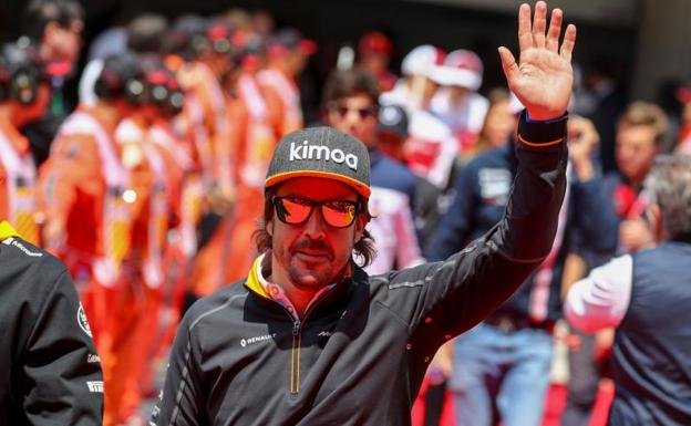 Fernando Alonso durante el GP de China/EFE
