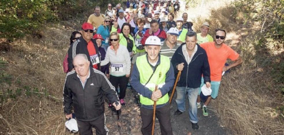 San Adrián de Juarros celebra una marcha para conocer y recaudar fondos en favor del Parkinson