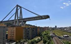 La amenaza del puente Morandi obliga a desalojar a más de 600 personas en Génova