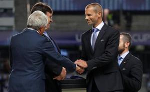 Ceferin se presentará a la reelección como presidente de la UEFA