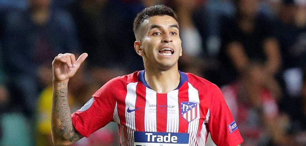 Correa, el ojito derecho de Simeone