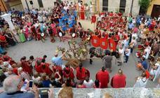 Baños de Valdearados rinde homenaje a la gastronomía romana en su fiesta en Honor al Dios Baco