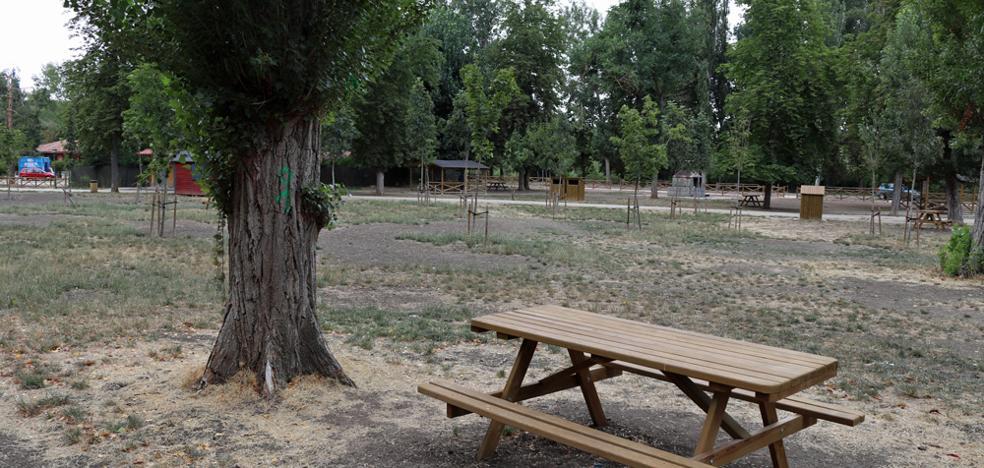 Burgos, a la cola en zonas verdes de Castilla y León