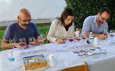 Sinovas vive un animado certamen de pacharán casero de la Ribera del Duero